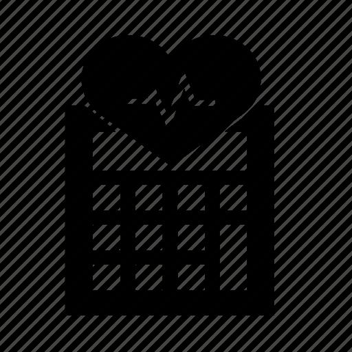 calculator, health icon