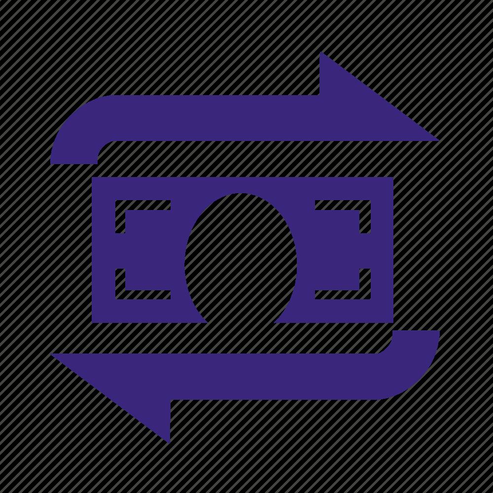 billing, cash, exchange, money, transcation icon