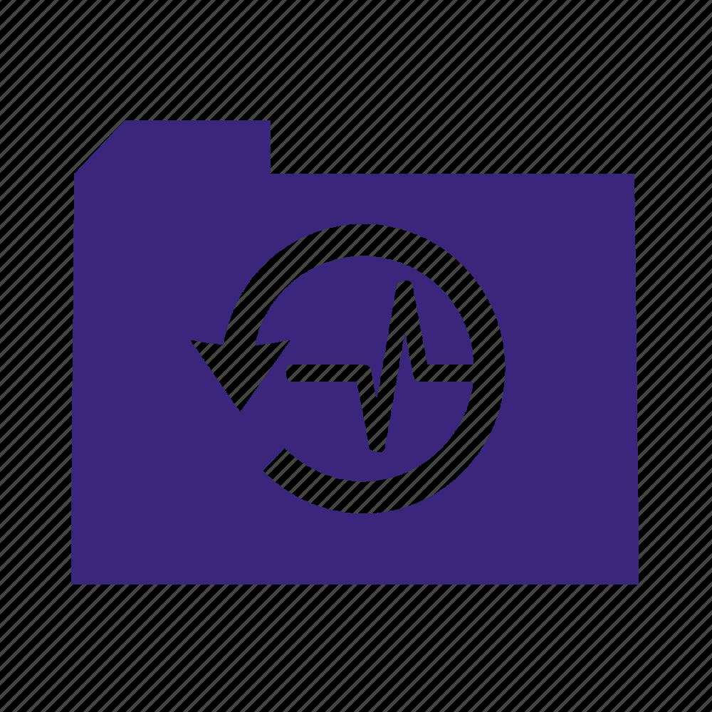 folder, hostory, medical icon