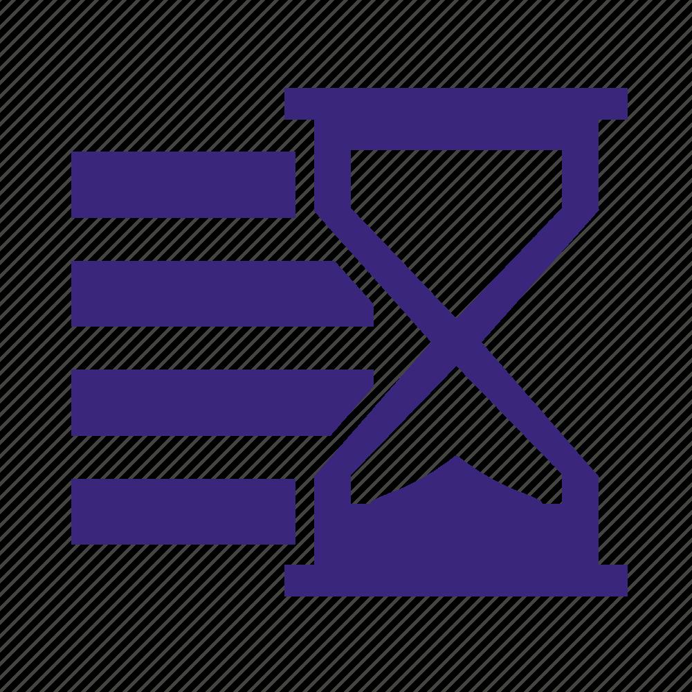 list, waiting, wlists icon