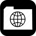 emr, folder, online icon