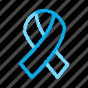 aids, hiv, ribbon icon