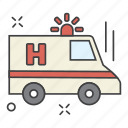 aid, ambulance, care, health, medical, science icon