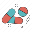 aid, care, health, medical, medicne, science, tablets icon