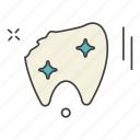 aid, care, health, medical, science, tooth icon