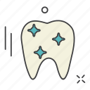 aid, care, clean, health, medical, science, tooth icon
