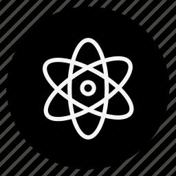 atomic, drug, healthcare, hospital, medication, medicine, pharmaceutical icon