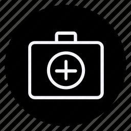 drug, first aid kit box, healthcare, hospital, medication, medicine, pharmaceutical icon