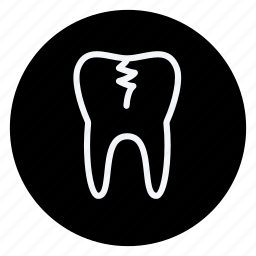 damage tooth, drug, healthcare, hospital, medication, medicine, pharmaceutical icon