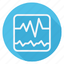 cardiogram, drug, healthcare, hospital, medication, medicine, pharmaceutical icon
