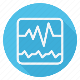 cardiogram, drug, healthcare, hospital, medication, medicine, pharmaceutical icon