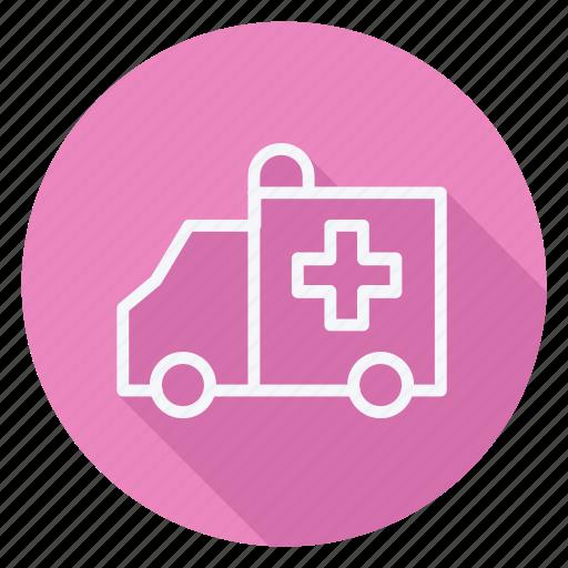 ambulance, drug, healthcare, hospital, medication, medicine, pharmaceutical icon