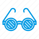 blindness, eye, goggles, ophthalmology icon