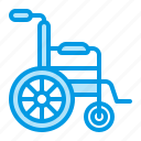 orthopedics, rehabilitation, wheelchair icon