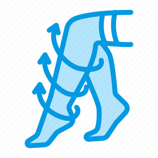 compression, legs, orthopedics, stockings icon