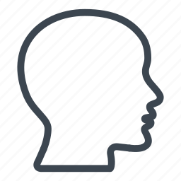 brain, head, human brain, neurology, people icon