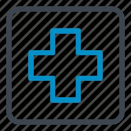 health care, health clinic, hospital, medical, pharmacy icon