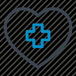 cardiogram, health care, heart, hospital, medical icon