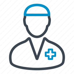 doctor, health care, man, medical, occupation, profession, surgeon icon