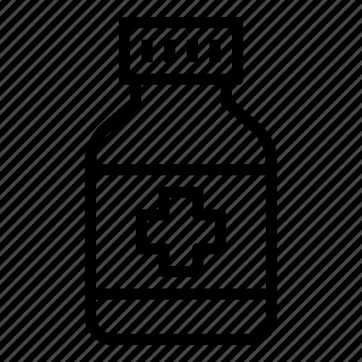 bottle, clinic, drug, healthcare, hospital, medicine icon