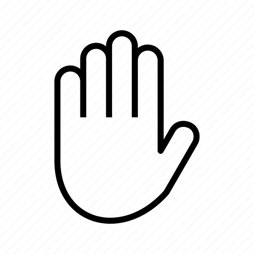 finger, fingers, gesture, hand icon