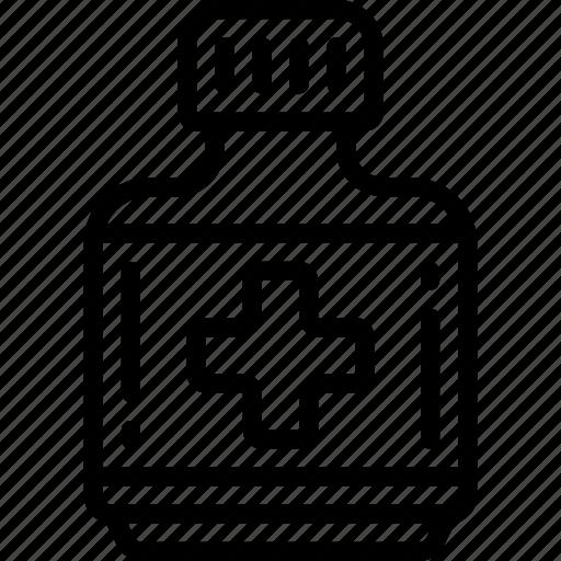 bottle, medical, medicine, patient, pills, prescription, tablets icon