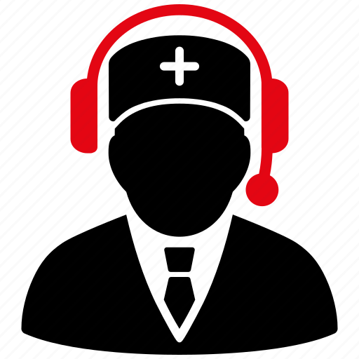 call center, doctor, emergency service, help desk, hotline number, phone operator, support chat icon