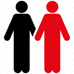 couple, gay pair, human family, male, men, people, users icon