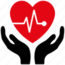 cardio, cardiology, care, emergency, heart, medical, medicine icon