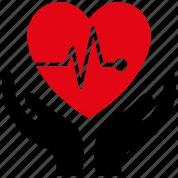 cardio, cardiology, care, emergency, heart, medical, medicine icon