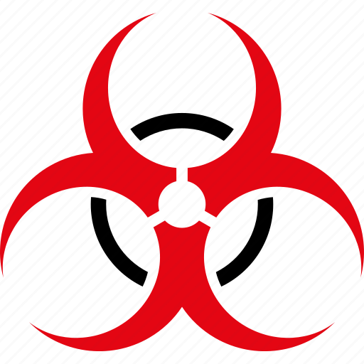 bio hazard, biohazard, biological, danger, epidemic, virus, warning icon