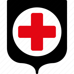 ambulance, health, healthcare, medical insurance, medicine, protection, shield icon