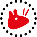 rat, animal, mice, mouse, parasite, pest, rodent icon