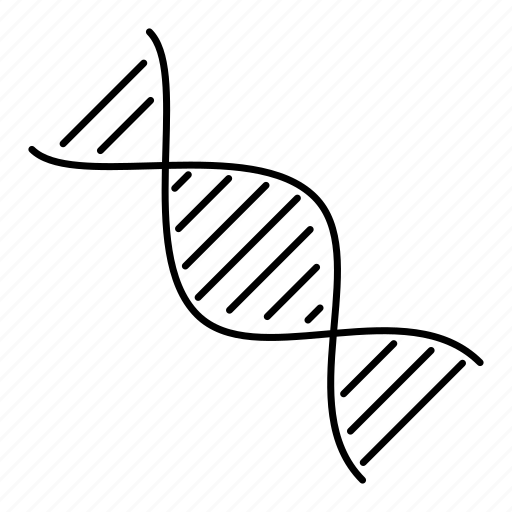 biology, dna, genealogy, genetics, helix, science icon