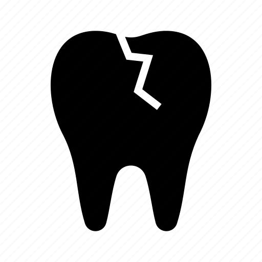 aching tooth, broken tooth, cracked tooth, dentist, teeth, tooth icon