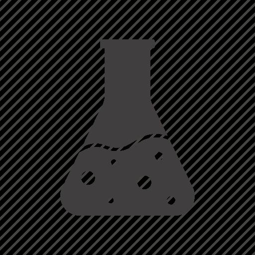bulb, chemical vessels, flask, glassware, lab, laboratory, liquid icon