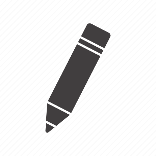Note, pencil, stationery, writing icon