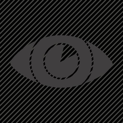 eye, eyeball, eyesight, ophthalmologist, ophthalmology, optic, vision icon