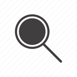 examination, lens, loupe, magnification, magnifier, research, search icon