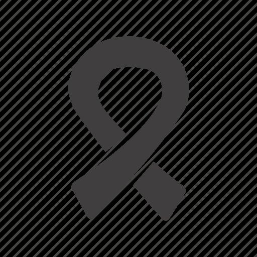 aids, anti-hiv, hiv, immunodeficiency, label, ribbon, virus icon