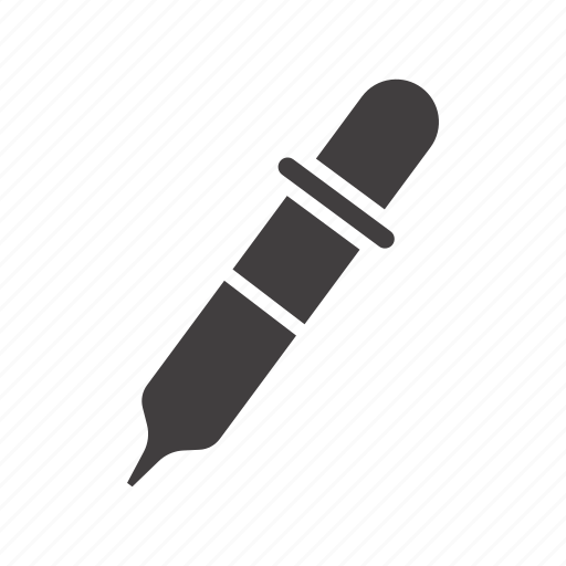dropper, pipet, pipette icon