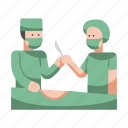 emergency, hospital, medical, operation, sterile, surgery, surgical icon
