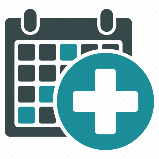 appointment calendar health medical schedule table time icon