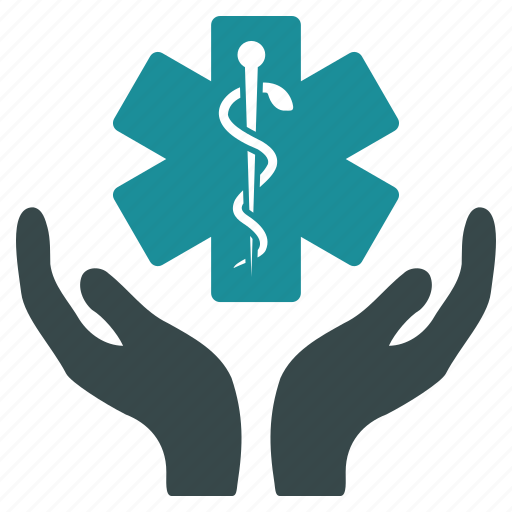 care, hands, health, healthcare, insurance, medicine, support icon