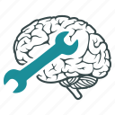 brain, intelligence, mental, psychiatry, psychology, psychotherapy, treatment icon