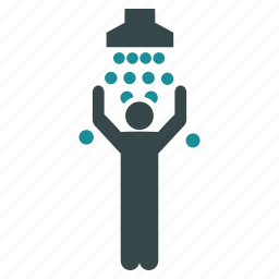 clean, disinfect, disinfection, hygiene, shower, spray, water icon