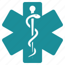 embleme, healthcare, hospital, life star, medical, medicine, pharmacy icon
