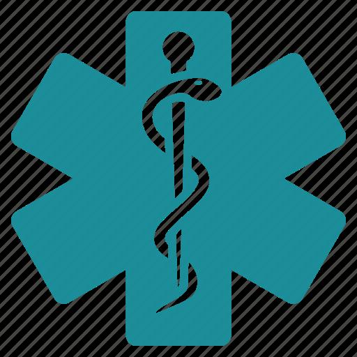 embleme, healthcare, hospital, life star, medical, medicine, pharmacy icon