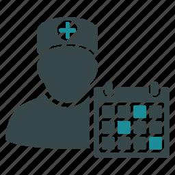 care, doctor, health, healthy, medical, medicine, schedule icon