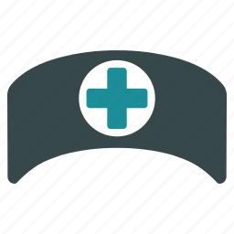 ambulance, cap, doctor, hat, healthcare, medical, nurse icon